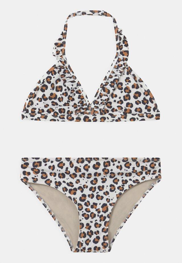 LEO FRILL SET - Bikini - light white