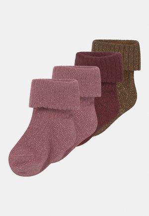 NBFDINOLA 4 PACK - Socks - catawba grape/desert palm/nostalgia rose