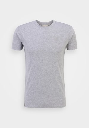 SMART ESSENTIALS TEE - Camiseta básica - grey marl