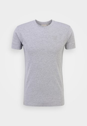 SMART ESSENTIALS TEE - T-shirt basic - grey marl