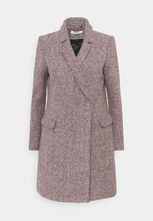 ANJA - Cappotto classico - violet motif