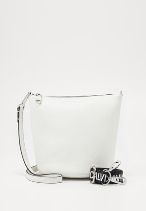MINI BUCKET - Handtasche - white
