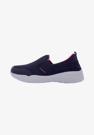 Scarpe senza lacci - navy blue