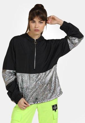 Summer jacket - black/silver