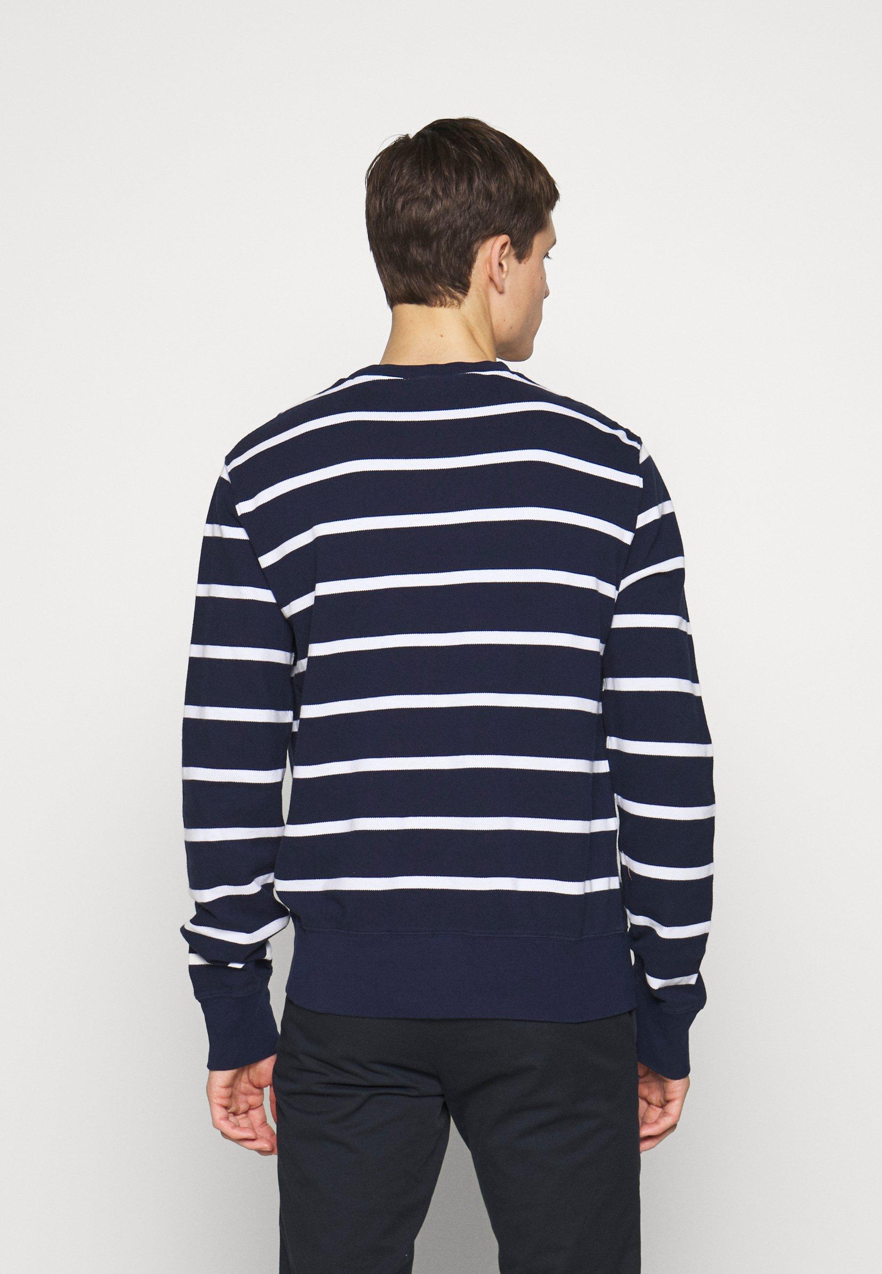 Pepe Jeans CARLO - Stickad tröja - deepsea blau/mörkblå - Herr Vinterkläder jWtqi