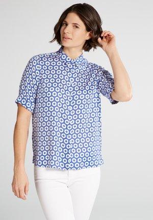 Button-down blouse - light blue/white