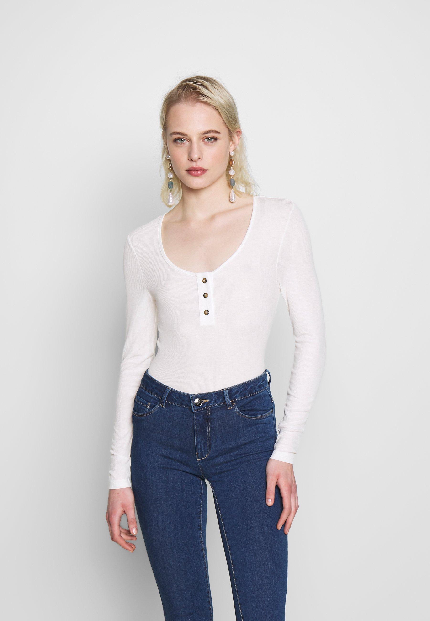 Femme NMHENLEY - T-shirt à manches longues