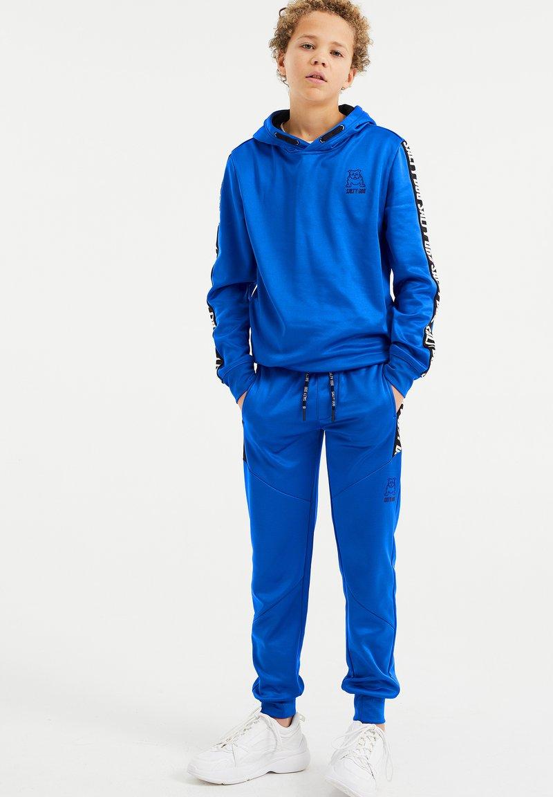 WE Fashion - SALTY DOG - Tracksuit bottoms - cobalt blue