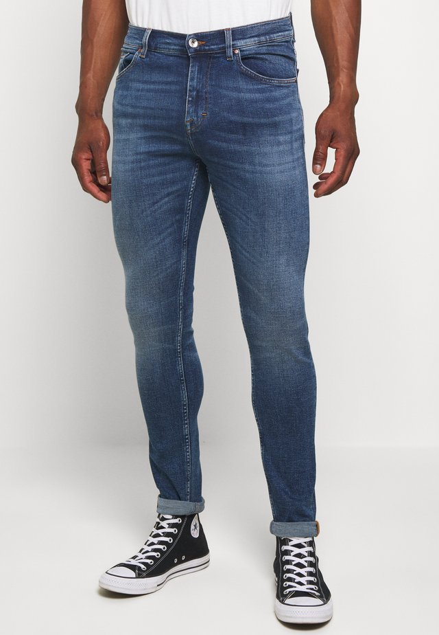 EVOLVE - Slim fit -farkut - blue denim