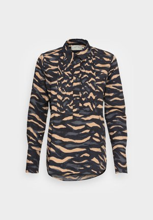 RAMA - Button-down blouse - caramel