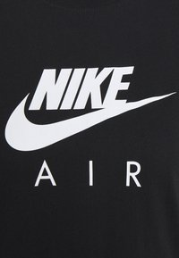 Nike Sportswear - AIR TOP  - T-shirt imprimé - black/white - 4