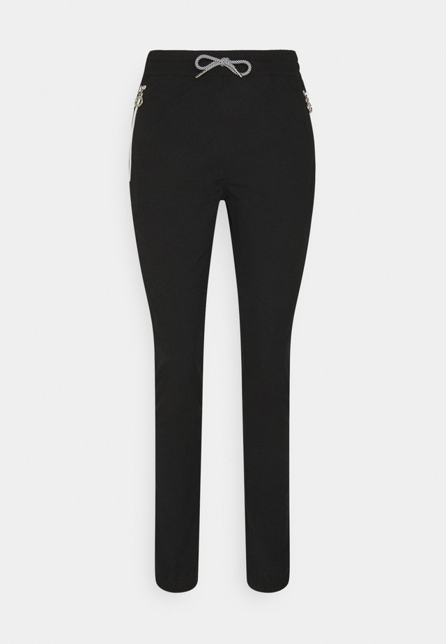 ISOLAHTI - Pantalons outdoor - black
