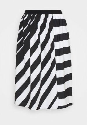 AIELLO - A-line skirt - nero