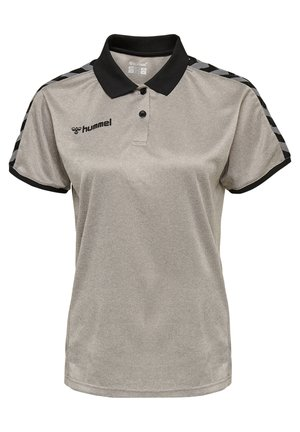 HMLAUTHENTIC FUNCTIONAL  - Poloshirt - grey melange