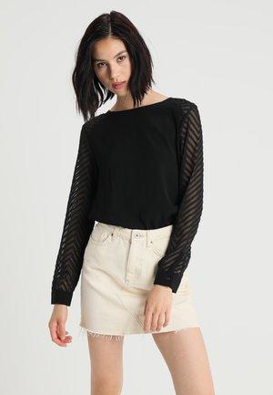 OBJZOE - Bluse - black