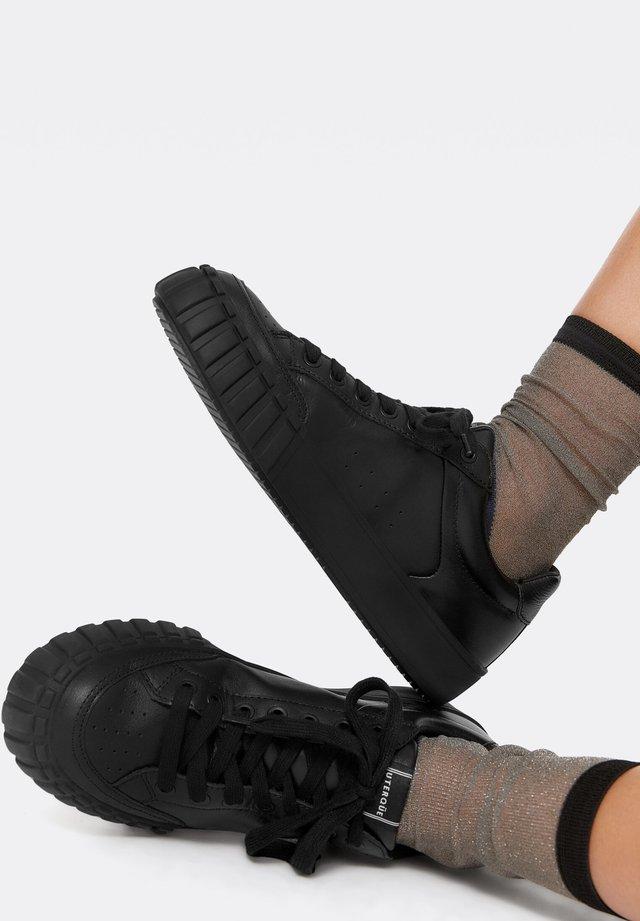 MIT LOGO - Sneakers laag - black