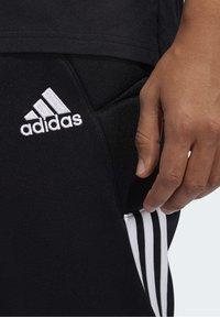 adidas Performance - TIERRO GOALKEEPER TRACKSUIT BOTTOMS - Verryttelyhousut - black - 4