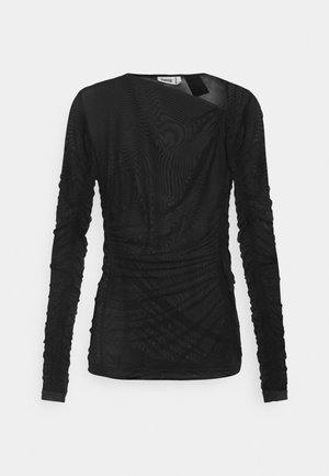 MARGERIE LONG SLEEVE - Long sleeved top - solid black
