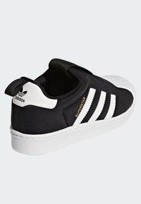 adidas Originals - SUPERSTAR 360 SHOES - Sneakersy niskie - black - 3