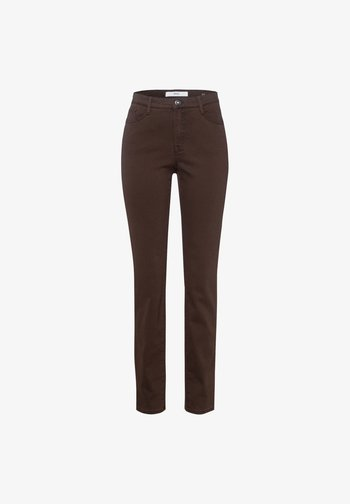STYLE MARY - Slim fit jeans - brown