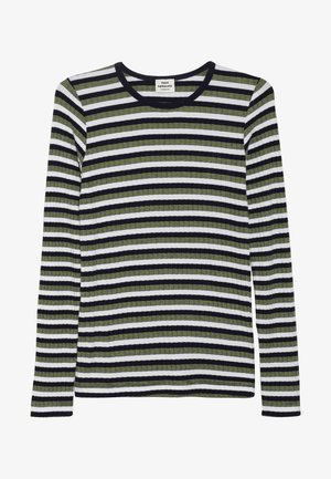 HAPPY STRIPE TALINO - Long sleeved top - navy/multi
