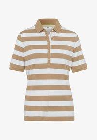 BRAX - STYLE CLEO - Polo shirt - sand - 5