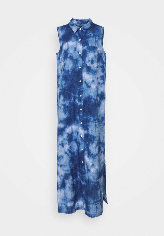 DRESS MAXI TIE DYE - Maxi dress - blue