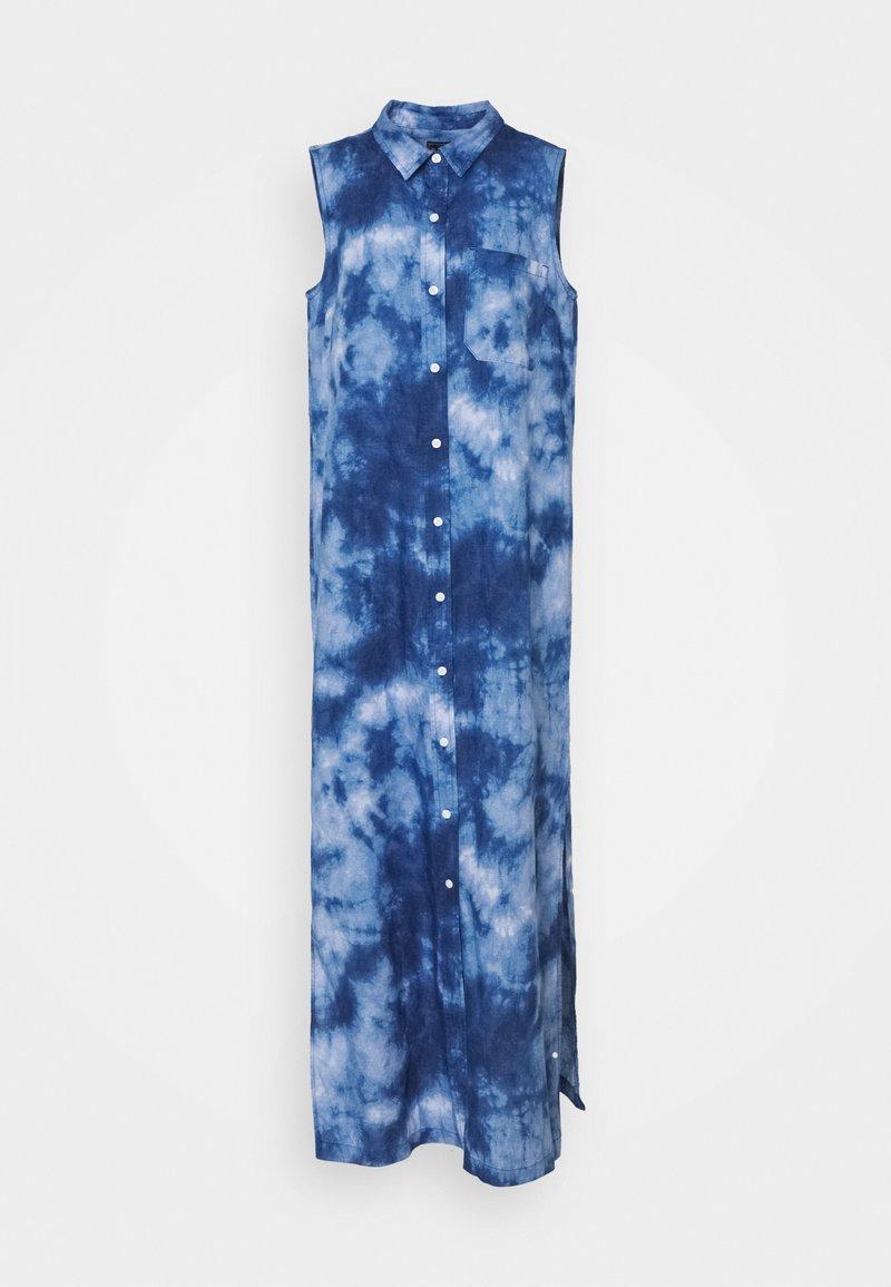 Gap Tall - DRESS MAXI TIE DYE - Maxi dress - blue