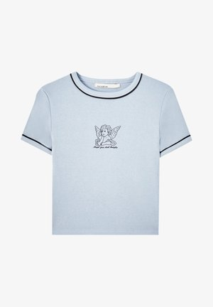 T-shirt imprimé - light blue