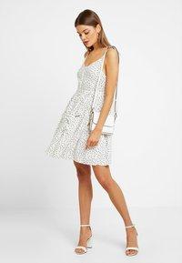 Superdry - AMELIE CAMI DRESS - Shirt dress - white - 1