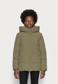 Esprit - Winter jacket - dark khaki - 0