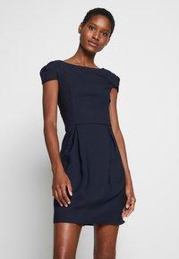 NAF NAF - DOUBANO - Shift dress - bleu marine - 0