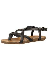 Blowfish Malibu - T-bar sandals - black - 2