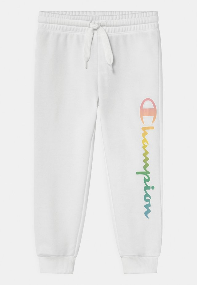 COLOR LOGO UNISEX - Verryttelyhousut - white