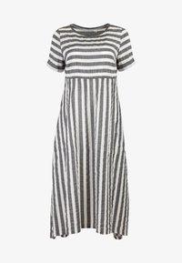 HELMIDGE - A-LINIEN-KLEID SOMMERKLEID - Day dress - grau - 5