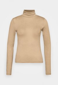 Gina Tricot - GIANNA POLO - Long sleeved top - tannin - 4
