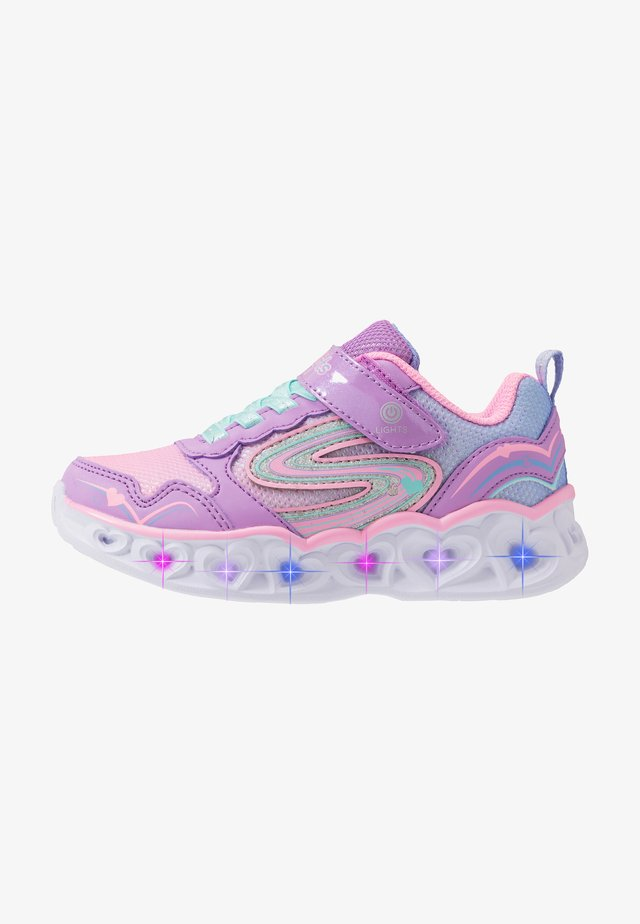 HEART LIGHTS - Sneakers basse - lavender/multicolor
