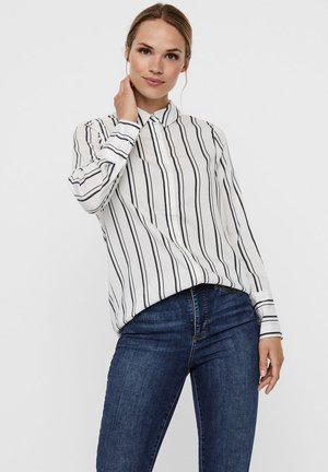 Button-down blouse - snow white 1