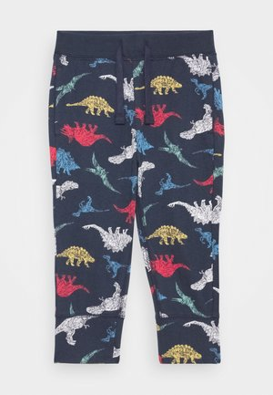TODDLER BOY PANT - Tygbyxor - dark blue/multi coloured