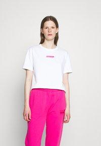 HUGO - THE BOXY TEE - Print T-shirt - open miscellaneous - 3