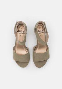 Jana - Sandals - pistachio - 5
