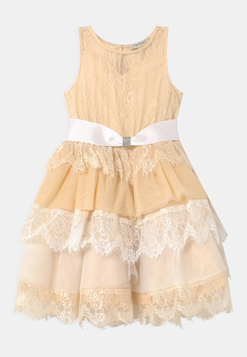 TWINSET - Cocktail dress / Party dress - off white/chantilly