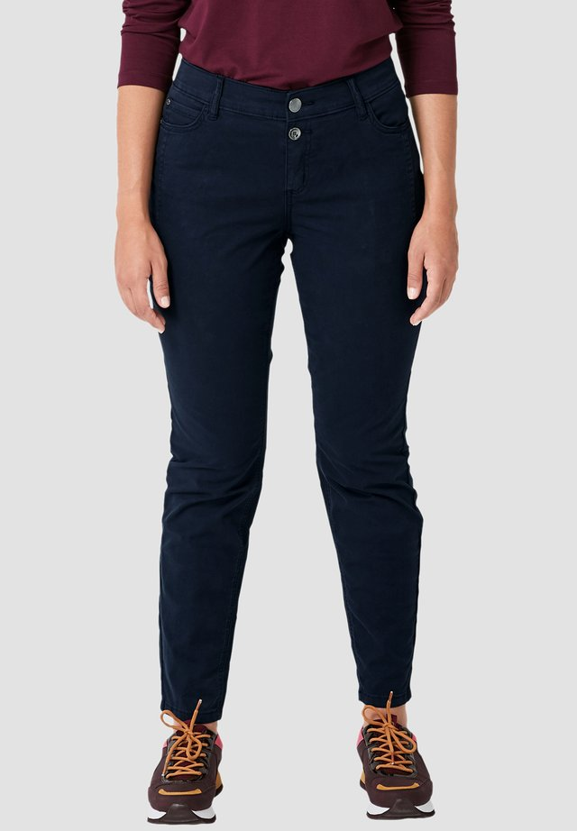 FANCY BOYFRIEND - Slim fit jeans - navy