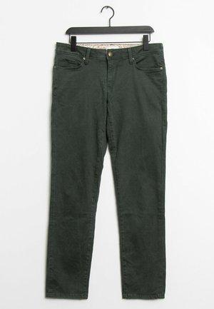 Straight leg jeans - green