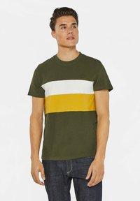 WE Fashion - Print T-shirt - army green - 0