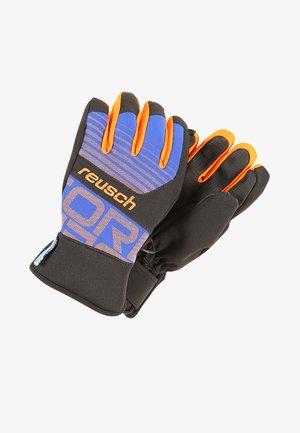 TORBENIUS R-TEX JUNIOR - Gloves - dazzling blue/orange popsicle