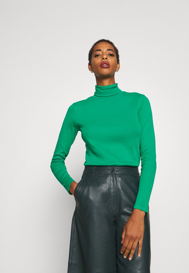 TURTLE NECK - Topper langermet - green