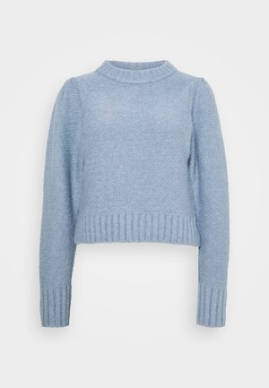 ANGELA - Sweter - light dusty blue