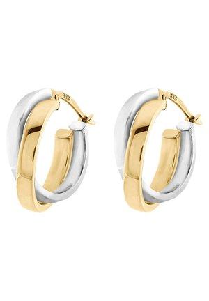 Earrings - bicolor/gold