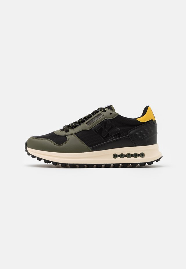 Trainers - new olive green